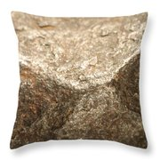Iron-nickel Meteorite Throw Pillow