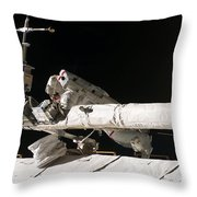 Iss Maintenance Throw Pillow