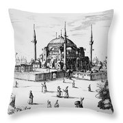 Istanbul: Hagia Sophia Throw Pillow