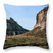 Jailhouse Rock And Courthouse Rock Throw Pillow