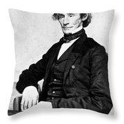 James Gordon Bennett, Sr Throw Pillow