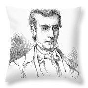 James K. Polk (1795-1849) Throw Pillow