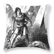 James P. Beckwourth Throw Pillow