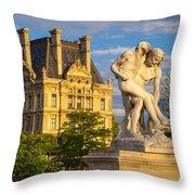 Jardin Des Tuileries Throw Pillow