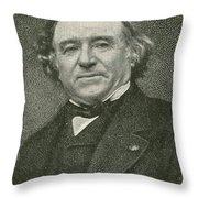Jean Baptiste Dumas, French Chemist Throw Pillow