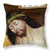 Jesus: Crucifixion Throw Pillow