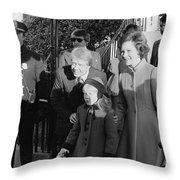 Jimmy Carter (1924- ) Throw Pillow