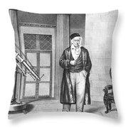 Johann Carl Friedrich Gauss, German Throw Pillow