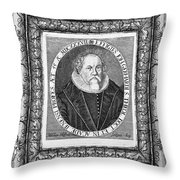 Johann Gerhard (1582-1637) Throw Pillow
