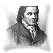 Johann Heinrich Pestalozzi, Swiss Throw Pillow