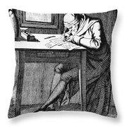 Johann Kaspar Lavater Throw Pillow