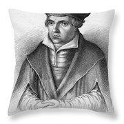 Johannes Bugenhagen Throw Pillow