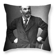 John Burns (1858-1943) Throw Pillow