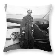 John Dahlgren, American Naval Officer Throw Pillow