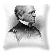 John Dix (1798-1879) Throw Pillow by Granger