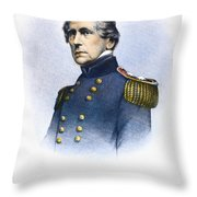 John Ellis Wool (1784-1869) Throw Pillow