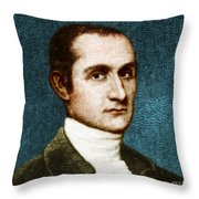 John Jay, American Founding Father Throw Pillow