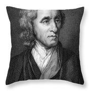 John Locke, English Philosopher, Father Throw Pillow