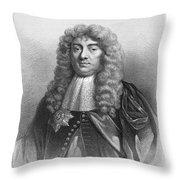 John Maitland (1616-1682) Throw Pillow