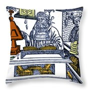 John Peckham, Anglican Theologian Throw Pillow