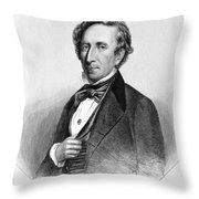 John Tyler (1790-1862) Throw Pillow