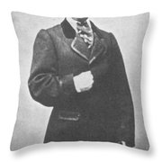 John Wilkes Booth, American Assassin Throw Pillow