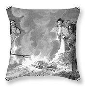John Wycliffe (1320?-1384) Throw Pillow