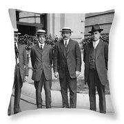 Jos� Vasconcelos (1882-1959) Throw Pillow