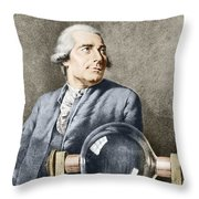 Joseph-michel Montgolfier, French Throw Pillow