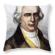 Joseph-michel Montgolfier Throw Pillow