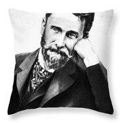 Joseph Pulitzer (1847-1911) Throw Pillow