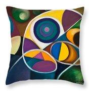 Juego Geometrico Throw Pillow