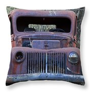 Just Rusting Throw Pillow