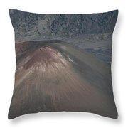 Ka Lua O Ka Oo Haleakala Volcano Maui Hawaii Throw Pillow