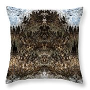 Kathmandu Throw Pillow by Christopher Gaston