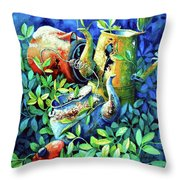 Kettle Cluster Throw Pillow