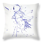 Kiganda Dance - Uganda Throw Pillow
