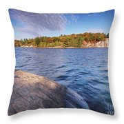 Killarney Provincial Park In Fall Throw Pillow
