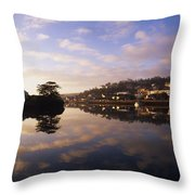 Kinsale Harbour, Co Cork, Ireland Throw Pillow