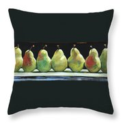 Kitchen Pears Throw Pillow