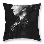Lady Augusta Gregory Throw Pillow