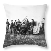 Lafayette Curry Baker Throw Pillow