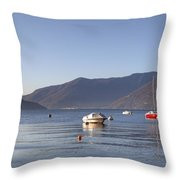 Lago Maggiore Throw Pillow by Joana Kruse