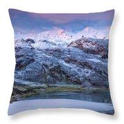 Lake Ercina Throw Pillow