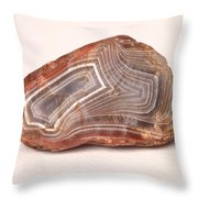 Lake Superior Agate Throw Pillow
