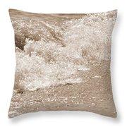 Lake Waves Throw Pillow