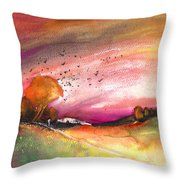Late Afternoon 23 Throw Pillow