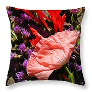 Latecomer  Throw Pillow
