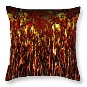 Lava And Brimstone Throw Pillow