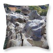 Lavertezzo - Ticino Throw Pillow